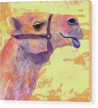 Camel Wood Prints