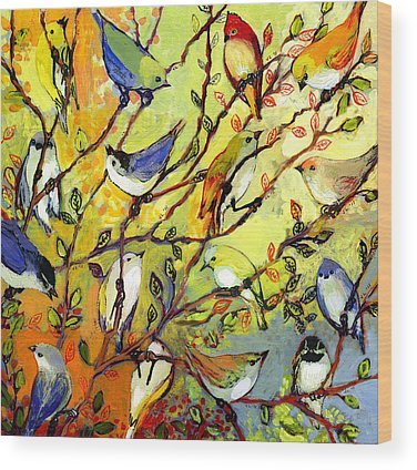 Bird Wood Prints