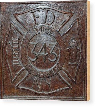 9-11 Wood Prints