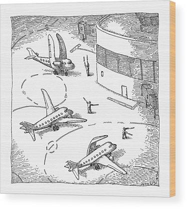 Air Traffic Control Wood Prints