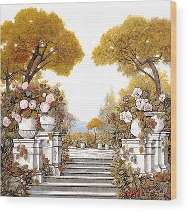 Four Seasons Wood Prints