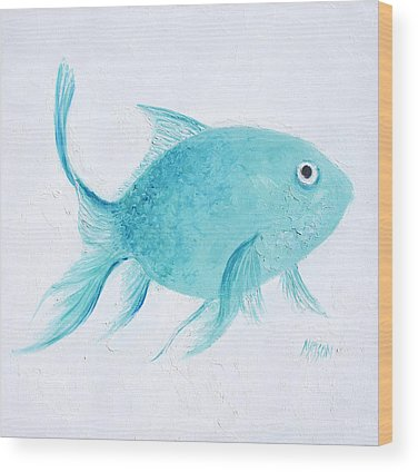 Tropical Fish Wood Prints