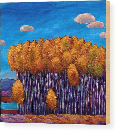 Autumnal Wood Prints