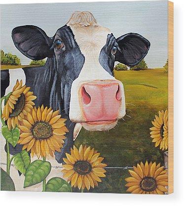 Holstein Wood Prints