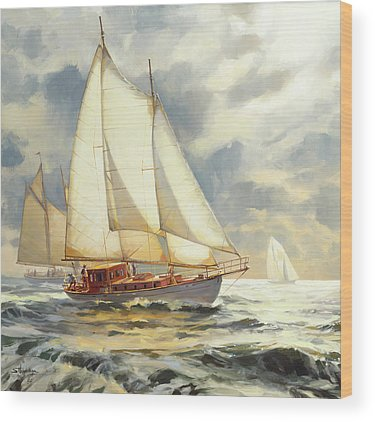 Sailboat Wood Prints