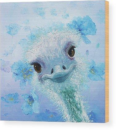 Emu Wood Prints