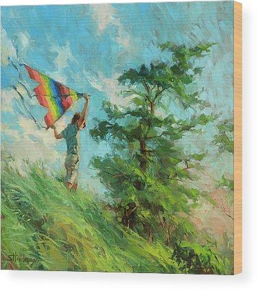 Childhood Wood Prints
