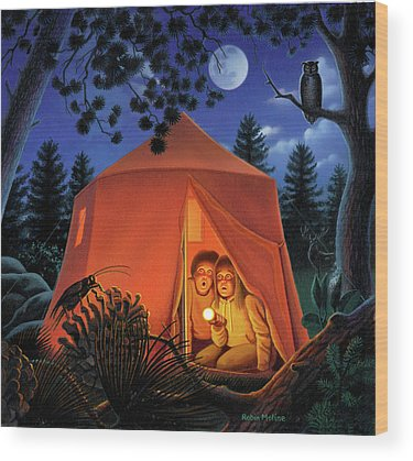 Camper Wood Prints