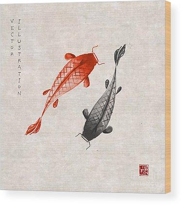 Sumi Wood Prints
