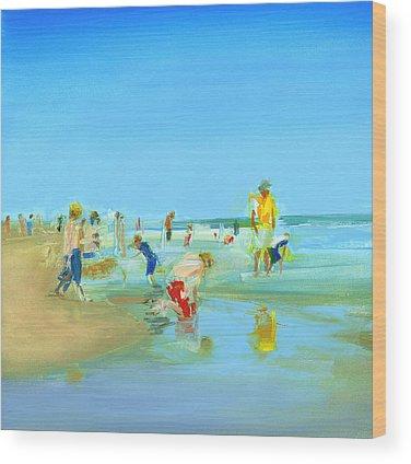 Bethany Beach Wood Prints
