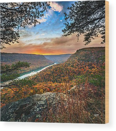 Cumberland River Wood Prints