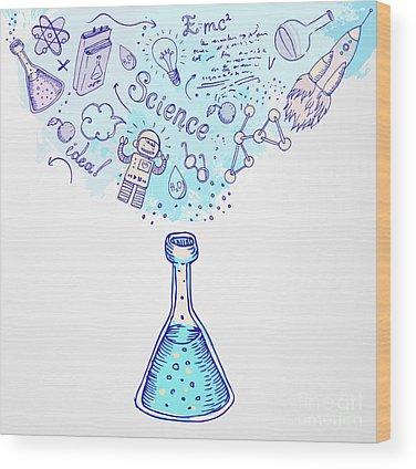Chemistry Wood Prints