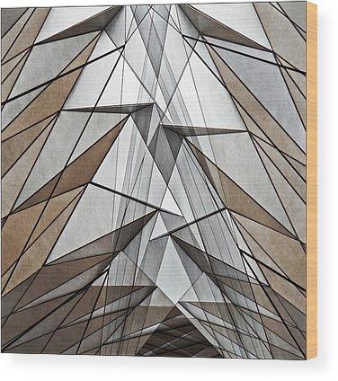 Structure Wood Prints