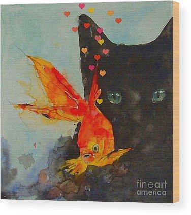 Feline Wood Prints