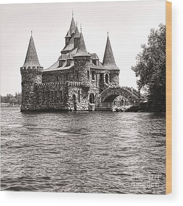 Boldt Castle Wood Prints