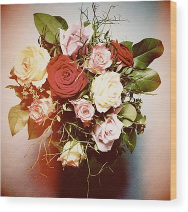 Bouquet Wood Prints
