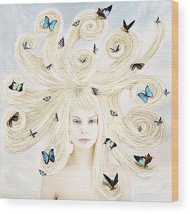 Russian Girl Wood Prints