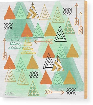 Arrow Wood Prints