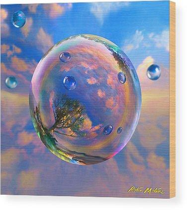 Dreamscape Wood Prints