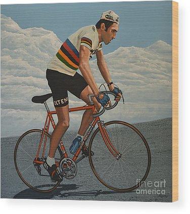Racers Wood Prints