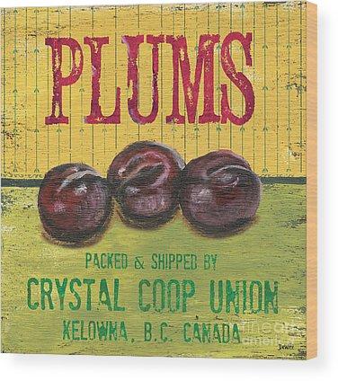 Plum Wood Prints