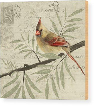 Ornithologist Wood Prints