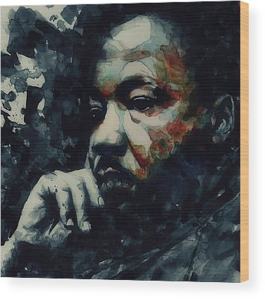Martin Luther King Wood Prints