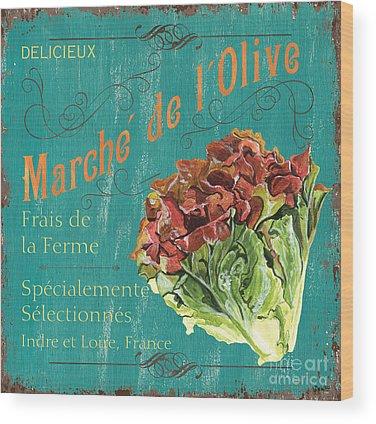 Lettuce Wood Prints