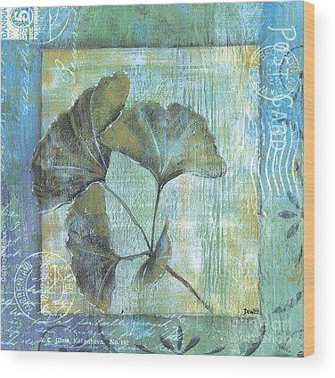 Plants Wood Prints