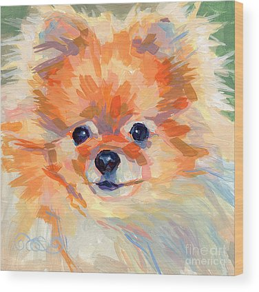 Pomeranian Wood Prints
