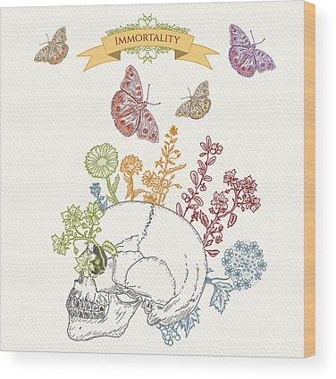 Consciousness Wood Prints