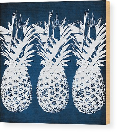 Pineapple Wood Prints