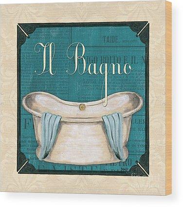 Basins Wood Prints