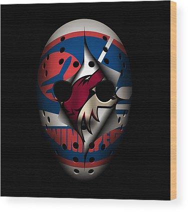 Phoenix Coyotes Wood Prints