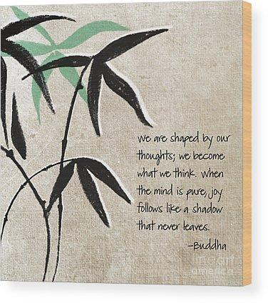 Leaf Wood Prints