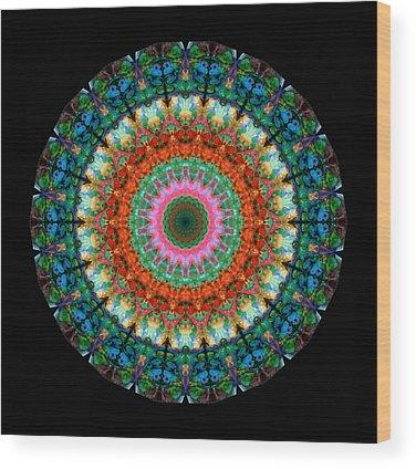 Kaleidoscope Wood Prints