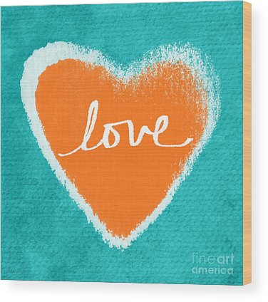 Love Wood Prints