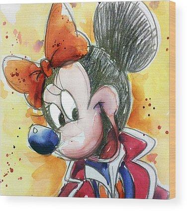 Disney Wood Prints
