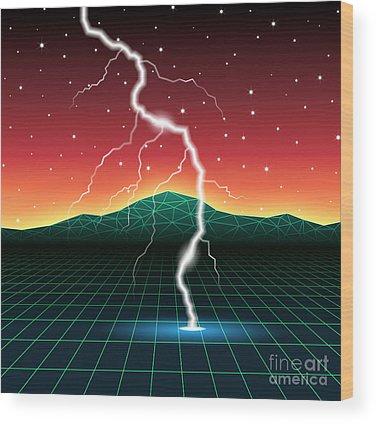 Laser Wood Prints