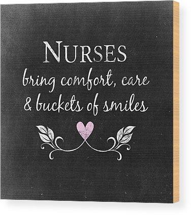 Nurse Wood Prints