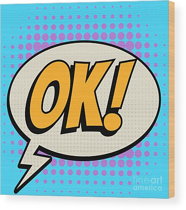 Ok Digital Art Wood Prints