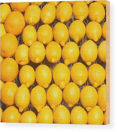 Fruit Stand Wood Prints