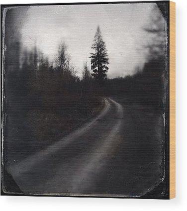 Track Wood Prints