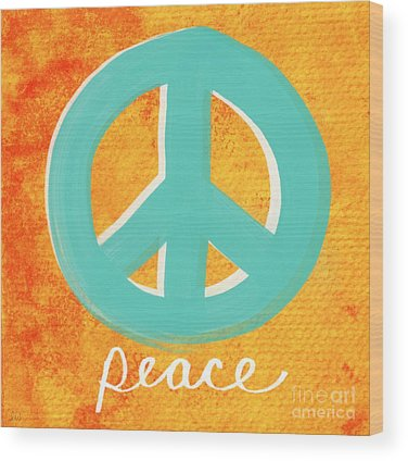 Peace Wood Prints