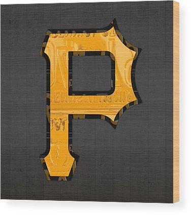 Pittsburgh Pirates Wood Prints