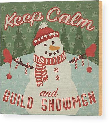 Christmas Elf Wood Prints