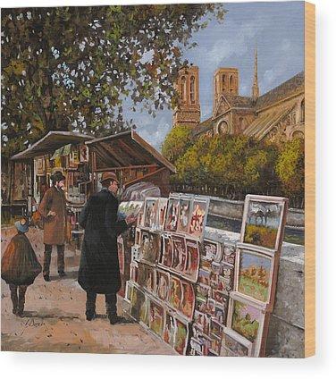 Notre Dame Wood Prints