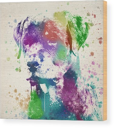 Rottweiler Wood Prints