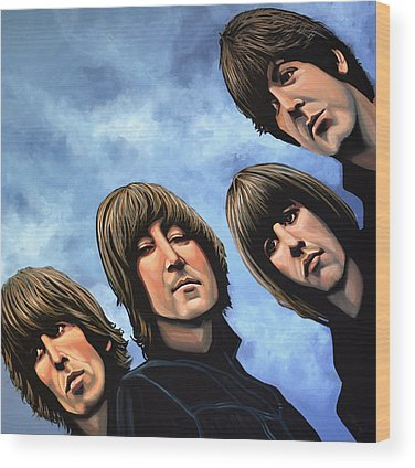 Beatles Wood Prints