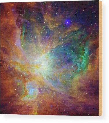 Nebula Wood Prints